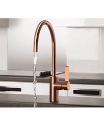 single lever kitchen sink mixer rose gold