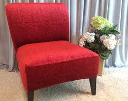 armless accent chair slipcover original designer slipcovers for armless by carriagehousecouture