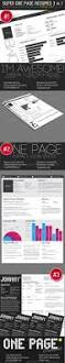 One Page Resume Super One Page Resumes Bundle 3 In 1 By Kaixer Graphicriver