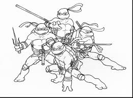 astounding teenage mutant ninja turtles coloring pages tmnt