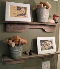 Woodworking Projects Pinterest by Diy Easiest Pallet Project Ever Rustic Reclaimed Wood Shelves