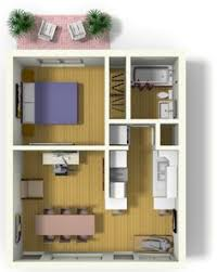 Live Work Floor Plans Small Apartment Design For Live Work 3d Floor Plan And Tour Photo
