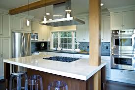 kitchen island with cooktop and seating appealing kitchen with island cooktop contemporary san stovetop