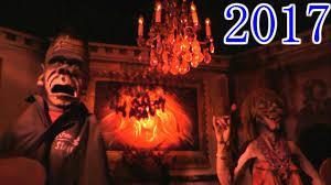 spirit halloween w2 knoebels haunted mansion 2017 new scares youtube