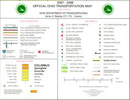 Bowling Green Ohio Map by Pages 2007 2009 Ohio Transportation Map Archive