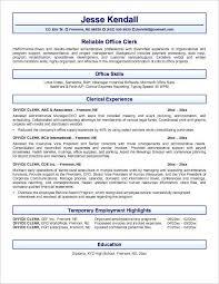 Supply Resume Examples by Payroll Clerk Sample Resume Payroll Clerk Resume Samples Yofutwn