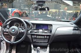 2016 bmw dashboard bmw x4 m40i dashboard at 2016 geneva motor show indian autos blog