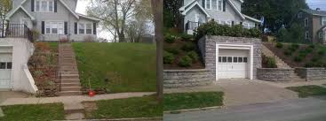 Sloped Front Yard Landscaping Ideas - ideas with rocks image garden i front small sloped front yard