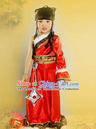 Princess Halloween Costumes Kids Chinese Emperor Armor Halloween Costumes Kids Baby Hanfu