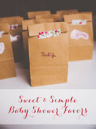 simple baby shower sweet simple baby shower favors live simple