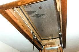 install attic ladder attic ladder installation service install