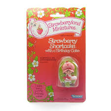 strawberry shortcake with a birthday cake moc factory sealed