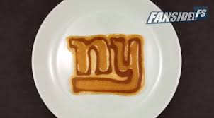 New York Giants Toaster Watch Giants Jets And Eagles Pancake Logos Are The Perfect