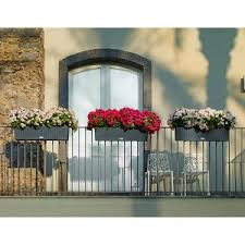 Metal Window Boxes For Plants - deck railing planters hayneedle