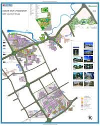 Bahadurgarh Metro Map by Omaxe New Chandigarh Plots In New Chandigarh