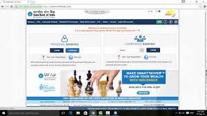 sbi internet banking registration and activation setup online