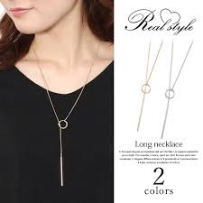 long necklace accessories images Outletruckruck rakuten global market the loop long necklace jpg