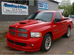 2005 dodge ram 1500 srt 10 regular cab in flame red photo 5