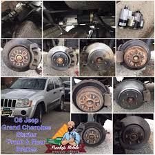 jeep grand rear brakes 2005 jeep grand starter front and rear brakes yelp
