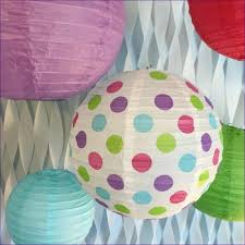 bedroom magnificent paper lanterns with lights included indoor