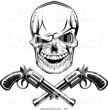 spooky clip art royalty free danger stock skull designs
