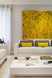 living rooms suprising yellow living room on grey and purple