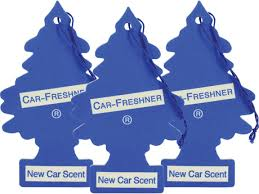 air freshener new car smell 3 pk new car scent air fresheners princess auto