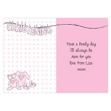 Christening Card Invitations 1st Birthday And Christening Invitation Wording Futureclim Info
