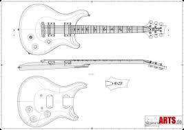 preview of a prs style guitar building plan guitar plans