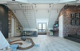 creative industrial loft room for kids luxervind