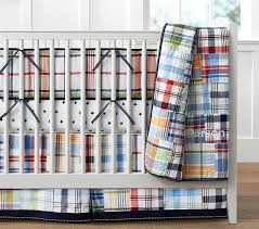 Pottery Barn Madras Curtains Madras Baby Bedding Set Pottery Barn