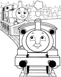 thomas and friends coloring picture grandkids pinterest inside