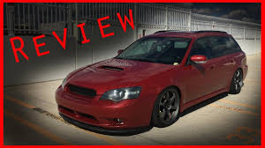 2005 subaru legacy modified 2005 subaru legacy gt review youtube