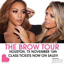 make up classes in houston makeup artist kelley baker continues brow education