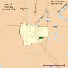 Cayuga County Map Map Of Cayuga Indiana Wikipedia