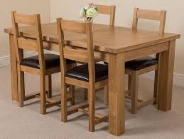 seattle dining set with 4 lincoln chairs oak furniture king
