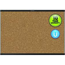 quartet mc244bp2 alum frame prestige 2 magnetic cork board 36