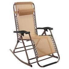Reclining Lounge Chair Folding Zero Gravity Reclining Lounge Chairs Outdoor Beach Pool