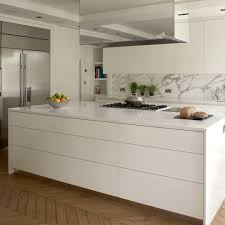 Kitchen Stainless Steel Cabinets Contemporary Kitchen Stainless Steel Laminate Island