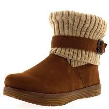 skechers womens boots uk skechers adorbs winter flat suede memory foam buckle ankle