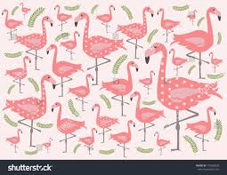 wallpaper with pink flamingos cute pink flamingo wallpaper stock vector hd royalty free