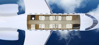 Private Jet Floor Plans Gulfstream 280gold Aviation