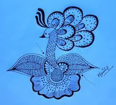 pencil arts and mehndi designs peacock design rangoli pencil sketch