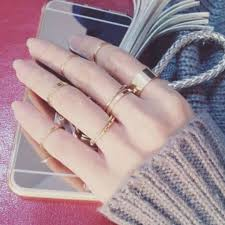 all fingers rings images 2017 new korean personality ten piece suit combination rings for jpg
