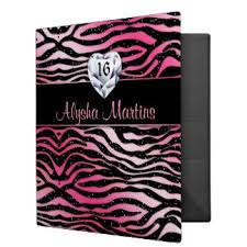 sweet 16 photo album sweet 16 album custom binders zazzle