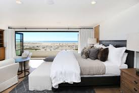 Modern Minimalist Bedroom Two Story Modern Minimalist Master Bedroom With Large Balcony