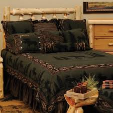 this moose cabin bedding made in the usa cabin decor