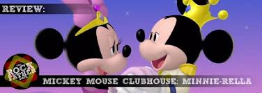 review mickey mouse clubhouse minnie rella dvd