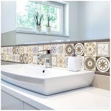 european style imitation tiles stickers diy 3d home floor decals