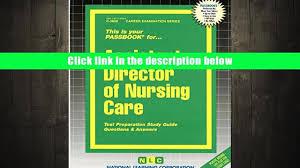 download assistant director of nursing care passbooks career